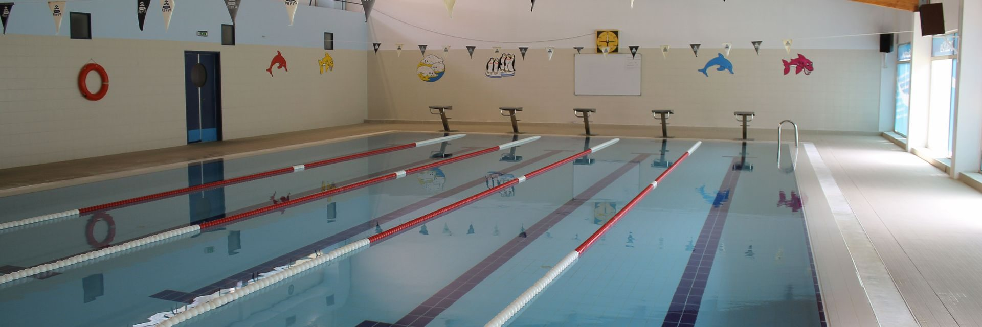 Reabertura das piscinas municipais