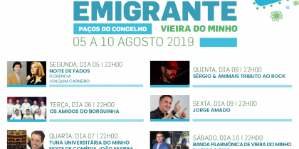Festa do Emigrante 2019