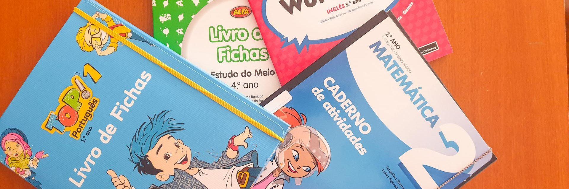 Manuais Escolares e Cadernos de Atividades do 1º Ciclo