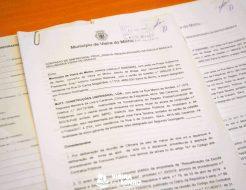 Galeria de Fotos - Assinatura do Contrato de Requalificação da Escola Básica e Secundária