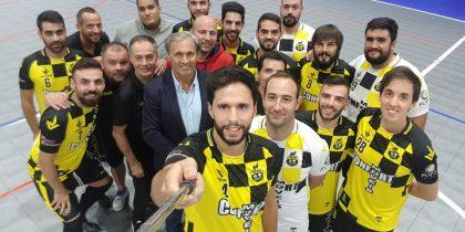 Vieira Futsal apresentou-se ao público