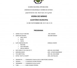 Concerto Quinteto de Metais da GNR