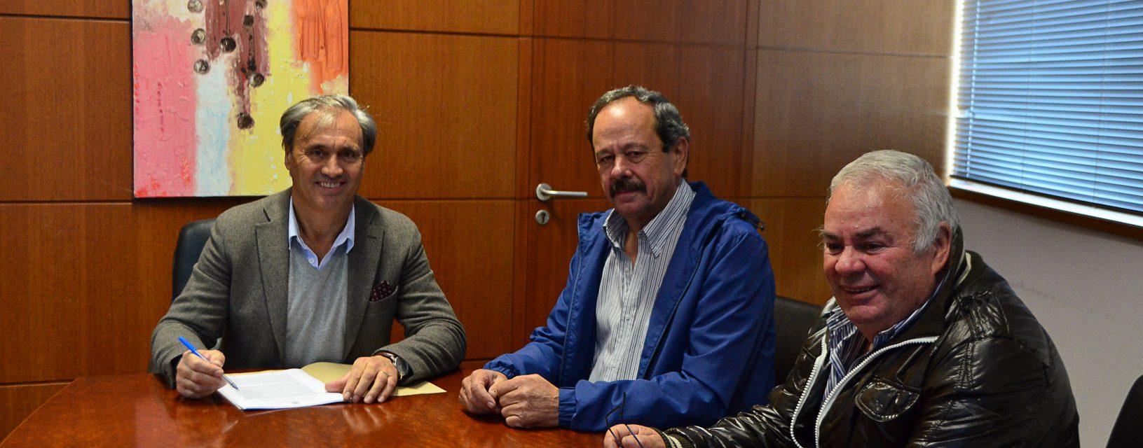 Câmara Municipal celebrou Protocolo de Colaboração com a Junta de Freguesia e Grupo Desportivo e Cultural do Mosteiro