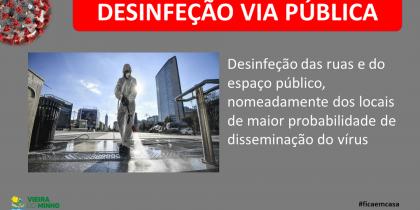 Desinfeção Via Pública