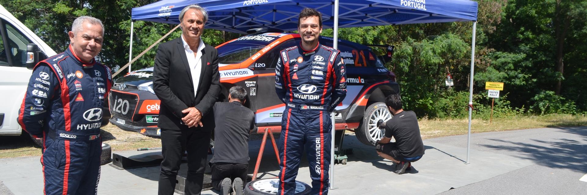 Serra da Cabreira voltou a receber pilotos de rally da elite nacional