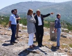 Galeria de Fotos - Diretora Regional do ICNF visitou Vieira do Minho