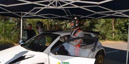 Bernardo Sousa testa Skoda R5 em Vieira do Minho
