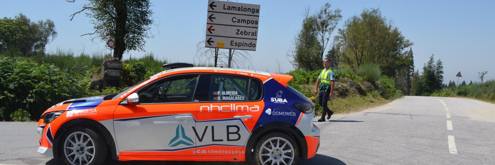 Pedro Almeida e Hugo Magalhães Testaram Peugeot 2008 Rally 4 na Serra da Cabreira