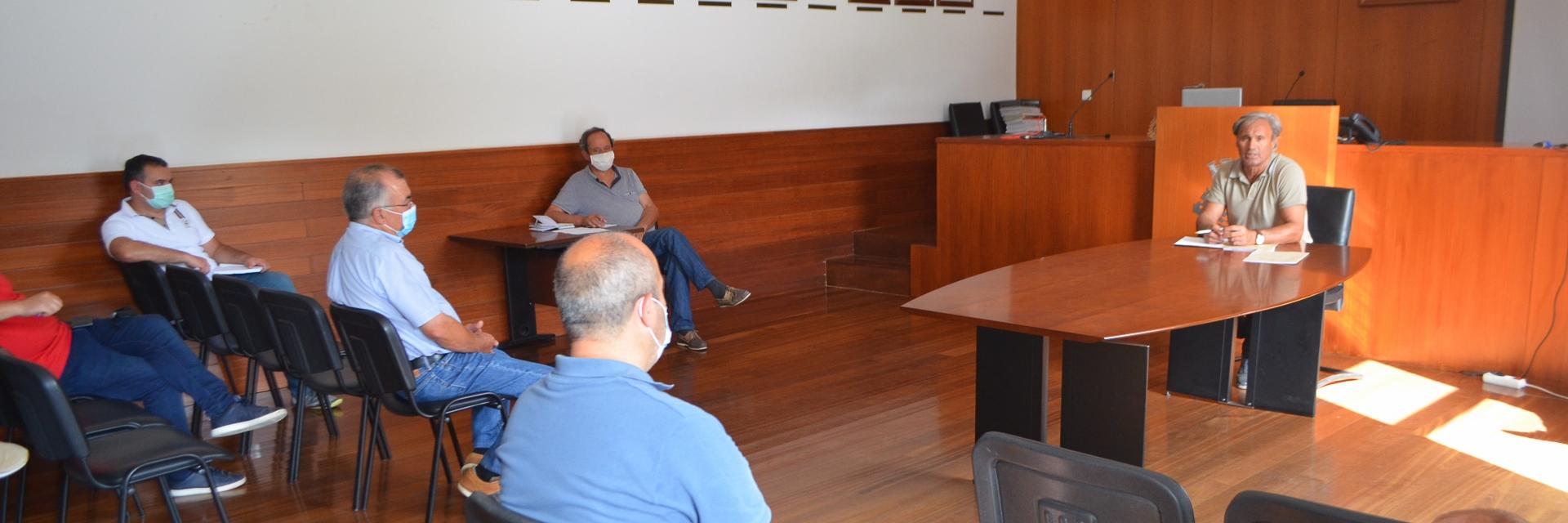 António Cardoso reuniu com os Presidentes de Junta