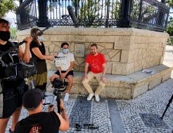 Galeria de Fotos - TV Galiza em Vieira do Minho para gravar programa co-produzido com a RTP
