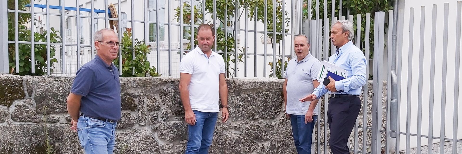 Executivo visita freguesia de Guilhofrei