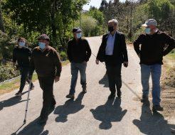 Galeria de Fotos - António Cardoso visita a Junta de Agricultores do Regadio da Levada da Touça
