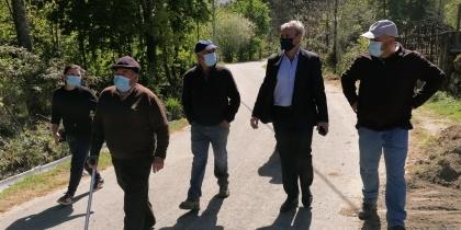 António Cardoso visita a Junta de Agricultores do Regadio da Levada da Touça