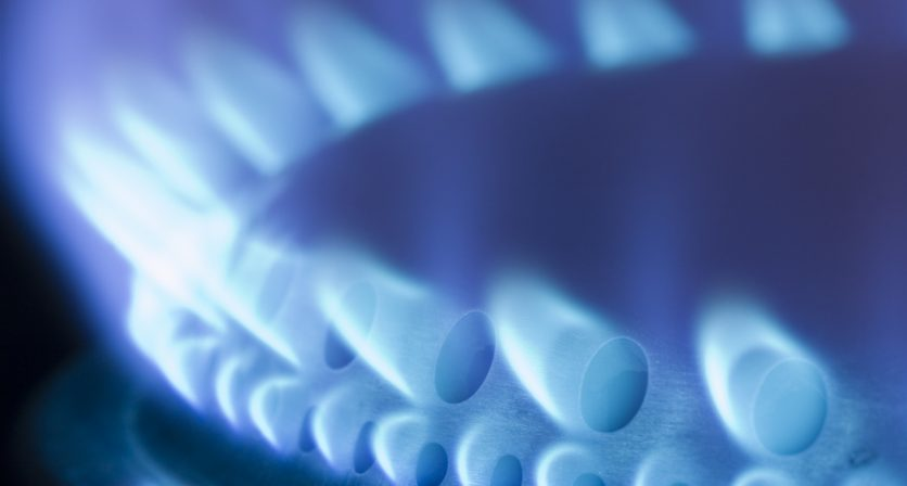 Construção de rede de gás natural