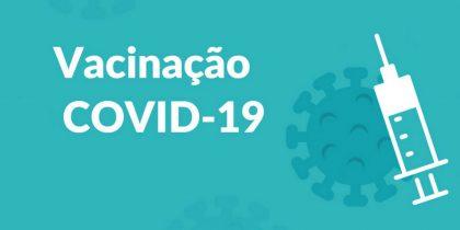 Agendamento Vacina COVID 19 já disponível para maiores de 40 anos
