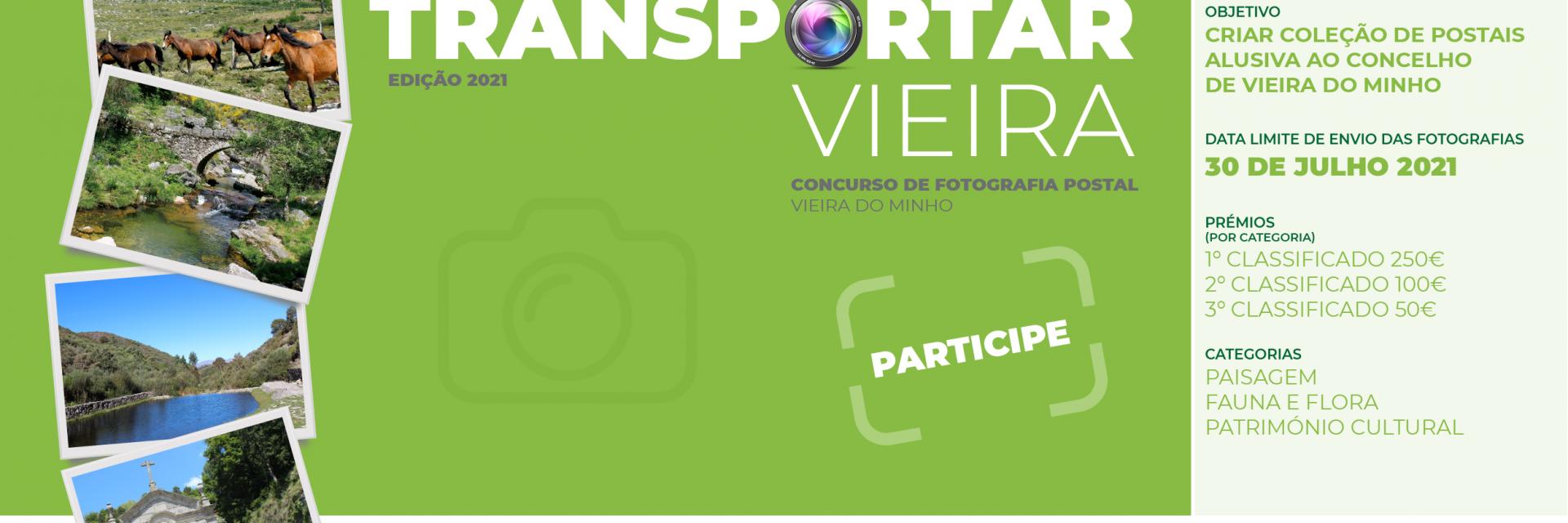 Concurso de Fotografia -Transportar Vieira