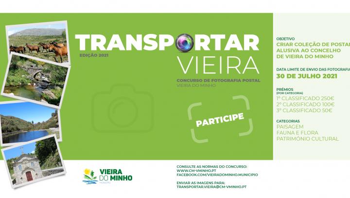 """Concurso de Fotografia """" Transportar Vieira """""""