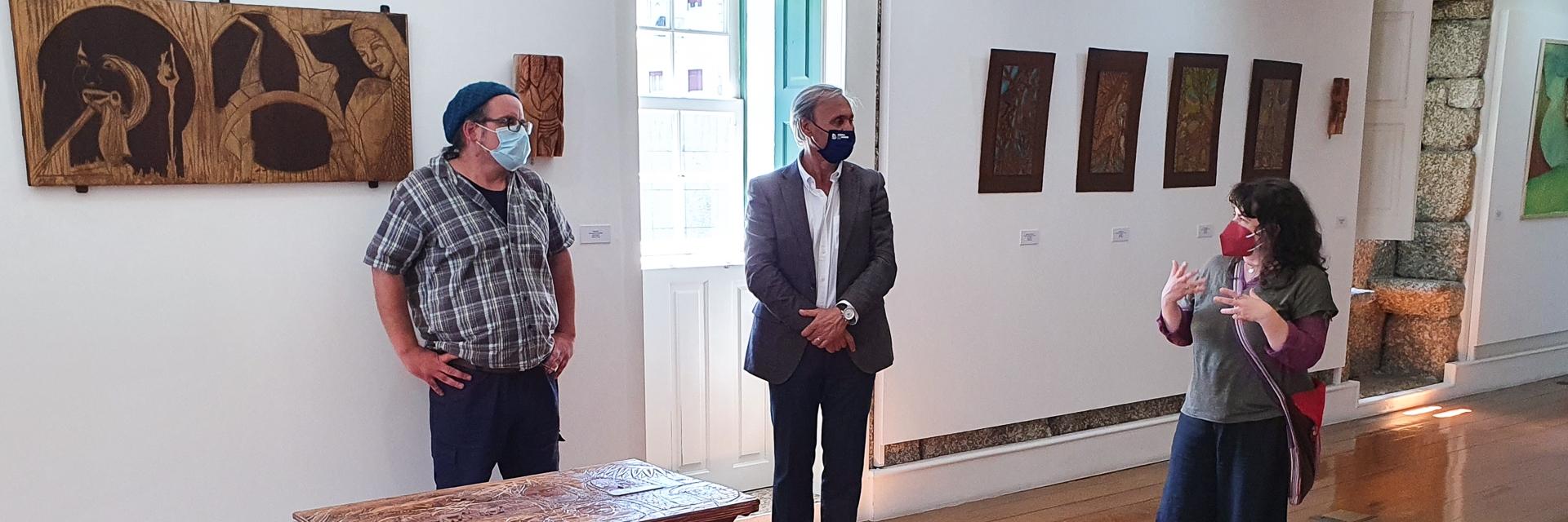"""Inauguração da Exposição """" Diálogos """""""