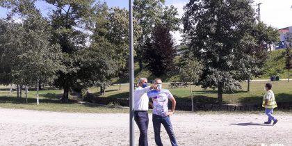Reforço iluminação pública no Parque dos Moinhos