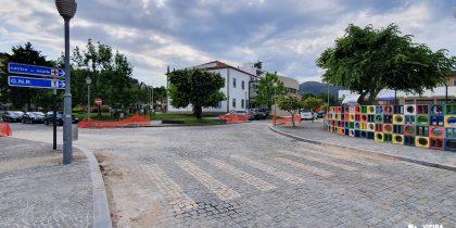 Requalificação Praça Dr. Guilherme de Abreu – trânsito interdito