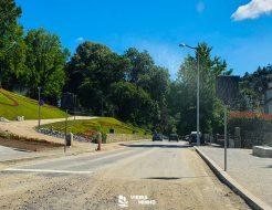 Galeria de Fotos - Trânsito Interdito na Rua Dr. António Luís Reis Ribeiro