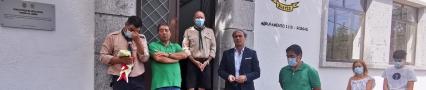 Colocação de relvado sintético no Campo de Futebol Francisco de Matos, na Vila de Rossas nextImage