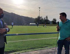 Galeria de Fotos - Colocação de relvado sintético no Campo de Futebol Francisco de Matos, na Vila de Rossas