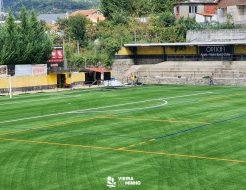 Galeria de Fotos - Estádio Municipal com novo relvado sintético