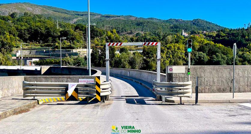 Trânsito interdito na Barragem de Salamonde e Caniçada